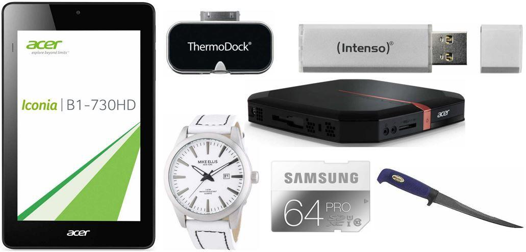 Acer Iconia One 7 Tablet PC und mehr Amazon Blitzangebote