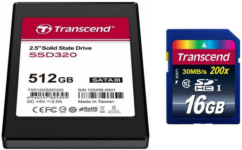 Amazon Blitz6 Transcend SSD 512GB für 179,90€ & Transcend Extreme Speed 16GB Class 10 Speicherkarte für 7,99€   Update