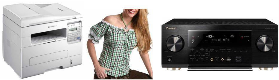 Samsung SCX 4729FW 4 in 1 Multifunktionsdrucker + 8 weitere Amazon Blitzangebote