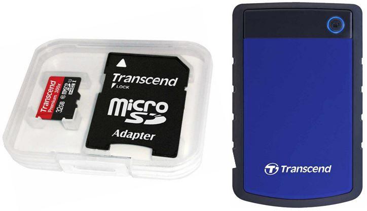 Transcend TS1TSJ25H3B StoreJet H3B externe Festplatte 1TB für 54,99€ + mehr Amazon Speicherangebote   Update