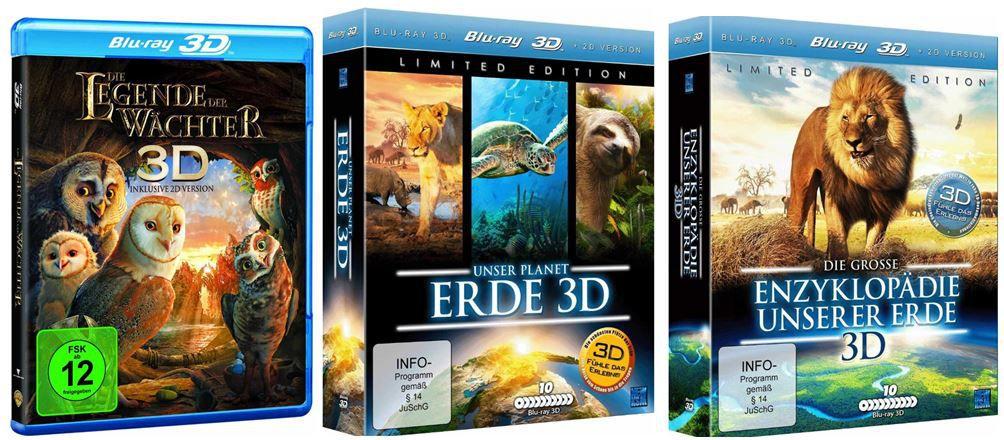 Die große Enzyklopädie unserer Erde 3D für 76,97€   bei den Amazon DVD und Blu ray Angeboten der Woche