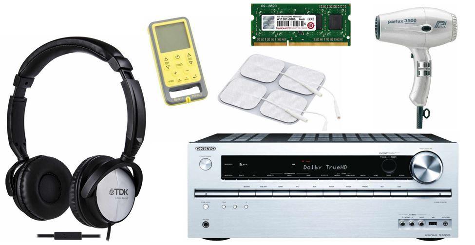 Onkyo TX NR626   AV Receiver + 5 weitere Amazon Blitzangebote ab 10Uhr