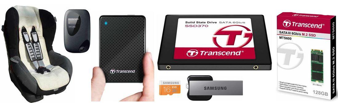 AmazonBlitz35 Transcend ESD200   SSD mit 128GB + 12 weitere Amazon Blitzangebote