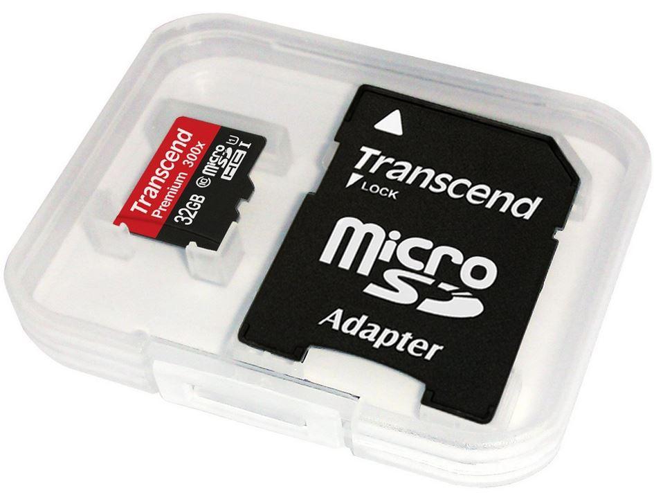 Transcend microSDHC Premium   32GB Class 10 UHS I Speicherkarte ab 9,49€