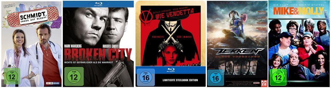AmazonBlitz9 V wie Vendetta   Steelbook und 23 weitere Amazon Blitzangebote
