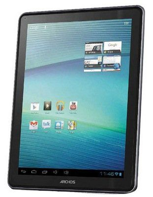 Archos 97 Carbon Tablet (16GB, 24,6cm (9,7 Zoll) kapa. Multitouch IPS Display, Android 4.0, 1GHz, 1GB RAM, WiFi, 2 Cams) für 69€ (statt 159€)