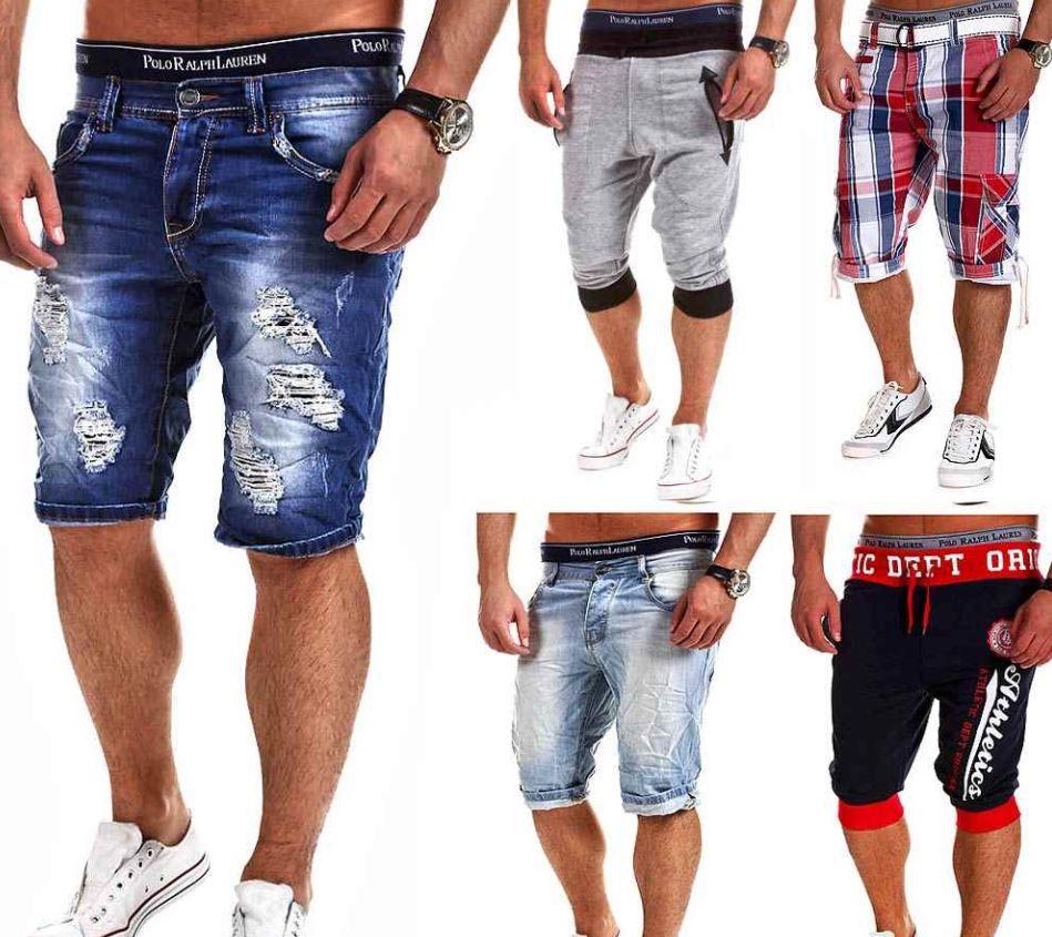 Behype Herren Bermund Shorts in 40 Modellen für je 18,99€