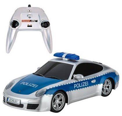 Carrera Polizei Auto Carrera RC 1:16 Polizei Funkauto für 22,85€ (statt 42€)