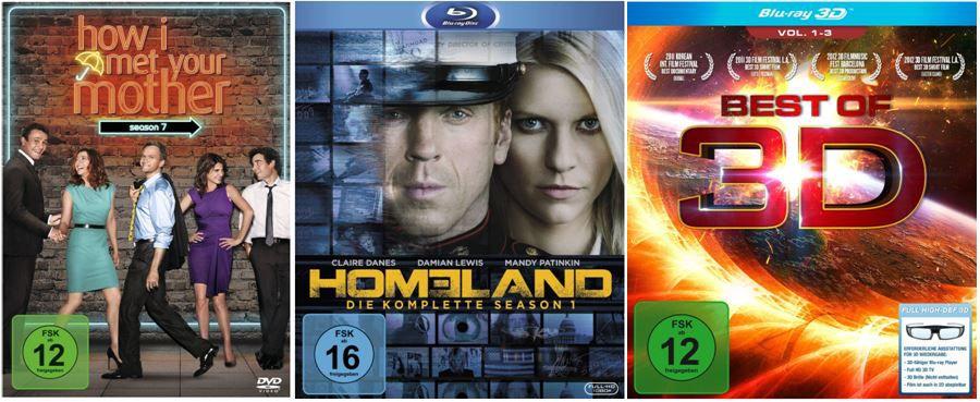 DVD Blu ray5 Homeland   Die komplette Season 1 ab 14,97€    bei den Amazon DVD und Blu ray Angeboten der Woche