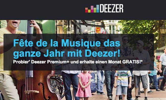 1 Monat Deezer Premium+ kostenlos testen   und ganze 6 Monate für ausgewählte Samsung Geräte kostenlos!