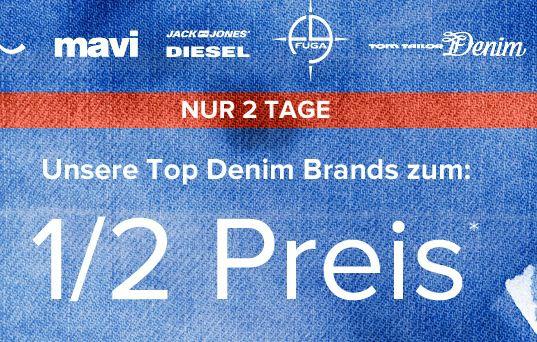 Dress for less Jeans Rabatt Ausgewählte Marken Artikel zum halben Preis bei Dress for less