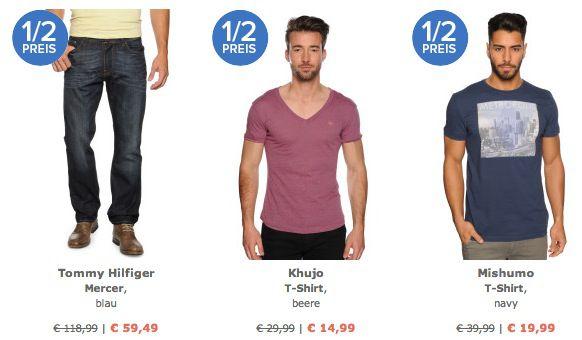 Dress for less Ausgewählte Marken Artikel zum halben Preis bei Dress for less