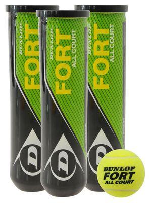 Dunlop Fort All Court Tennisbälle Dunlop Fort All Court Tennisbälle (4er Pack) für 2,39€ inkl. Versand + weitere Knaller!