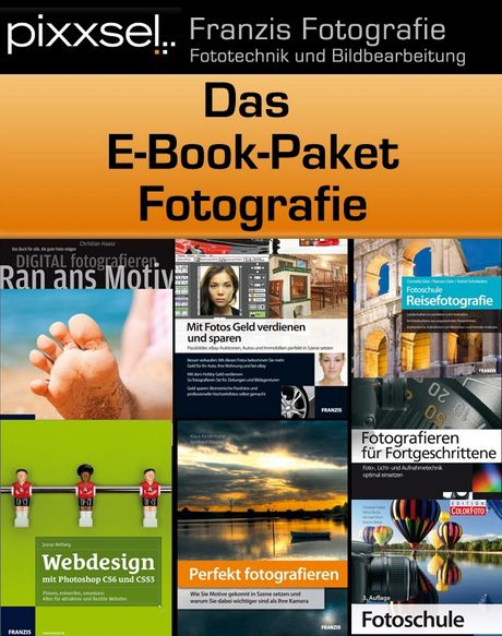 7 Foto E Books zum Thema Fotografie für nur 14,99€