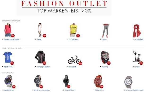 Fashion outlet SALE @ Amazon mit bis zu 70% Rabatt!