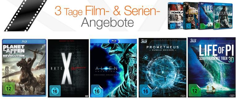 Film und serien Schnäppchen Amazon 3 Tage Film  und Serien Angebote   z.B.: M*A*S*H   Die komplette Serie [33 DVDs] für 39,97€   Update!