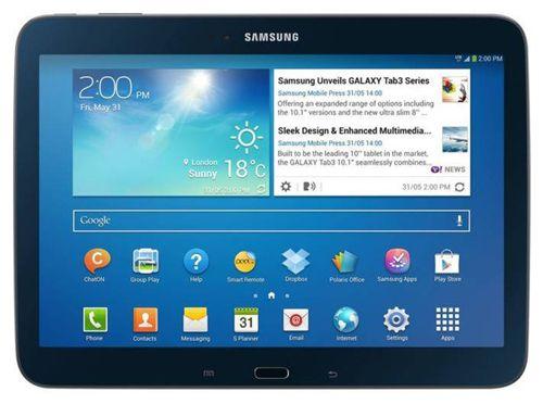 Samsung Galaxy TAB 3 10.1 (10,1 Zoll, Modell P5210, WLAN, 16GB, Schwarz) für 189€