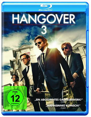 Hangover 3 Blu ray Hangover 3 Blu ray für 4,99€ + ggf. 1,99€ Versand (statt 12€)