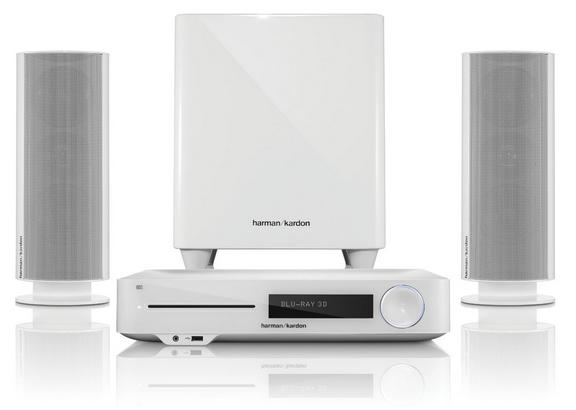 Harman Harman Kardon BDS 477   2.1 3D Blu ray Heimkinosystem für 666€