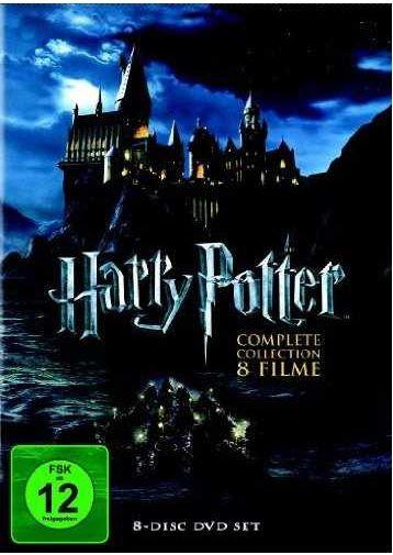 Harry Otter Harry Potter Komplettbox auf DVD für 18,88€