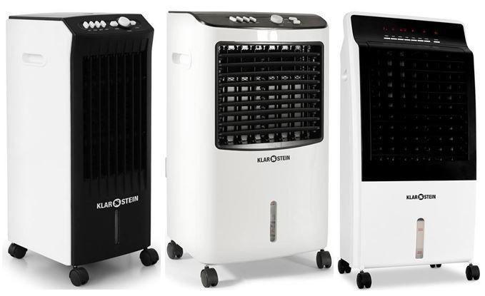 Haushalt1 Klarstein   mobile Klimaanlagen und Luftkühler   3 Modelle für je 77€ inkl. Versand