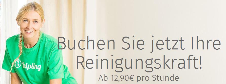 Putzkraft (3 Stunden!) dank Gutschein für nur 16,35€ in ausgewählten Städten   Update
