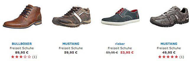 Herren Freizeit Schuhe 15% Rabatt auf alle Freizeitschuhe für Herren bei Mirapodo