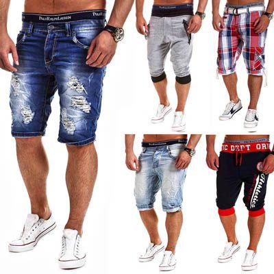 Verschiedene Herren Shorts (Cargo Bermuda Shorts, Kurze Hose, Jeans Bermuda, Karo Shorts) für jeweils 19,95€