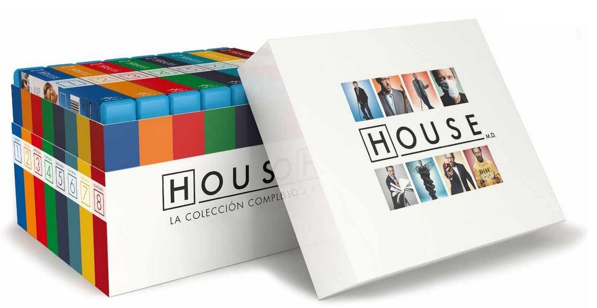 House Dr. House   die komplette Serie auf 48 Blu ray für 45€ (statt 77€)