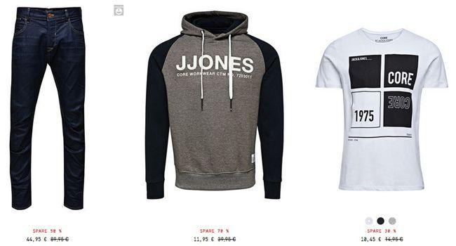 Jack & Jones Ausverkauf mit bis zu 70% Rabatt