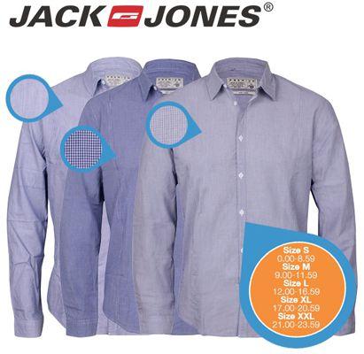3 Jack & Jones Tailored Herrenhemden in drei Farben für 45,90€ (statt 90€)