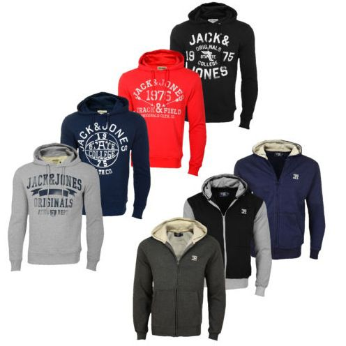 Jack & Jones oder Sucker Hoodies für jeweils 15,95€