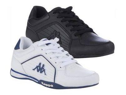 Kappa Udine Sneaker in Schwarz oder Weiß für jeweils 22,99€