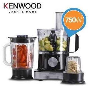 Kenwood Kenwood MultiPro FP264   kompakte Küchenmaschine mit Metall Gehäuse für 75,90€