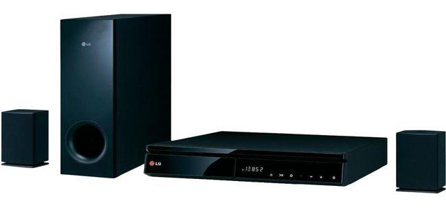 LG BH6240C   3D Blu ray 2.1 Heimkinosystem (500 Watt, Schwarz) für 129€ (Vergleich: 191€)