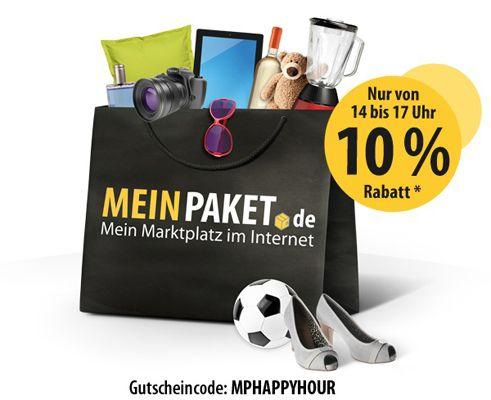 MeinPaket Bis 17 Uhr: 10% Gutschein bei MeinPaket