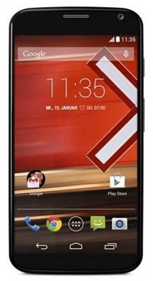 Motorola Moto X Smartphone (16GB, 4,7 Zoll Full HD, 10MP, Android 4.4) für 279€