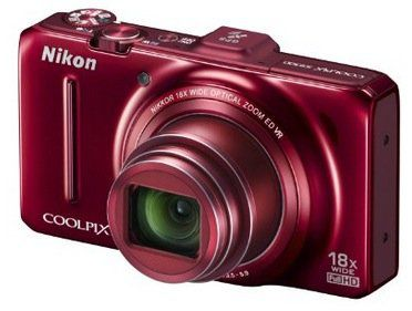 Nikon Coolpix S9300 Digitalkamera Nikon Coolpix S9300 Digitalkamera in Rot (16MP, 18 fach opt. Zoom, 7,5 cm (3 Zoll) Display, bildstabilisiert, GPS) für 157€ (statt 207€)