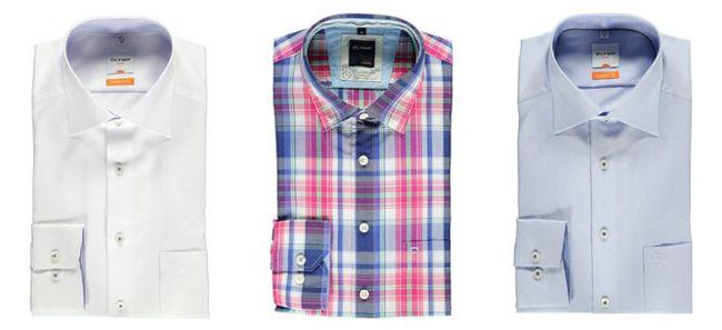 Günstige Olymp Hemden ab 29€ bei Engelhorn