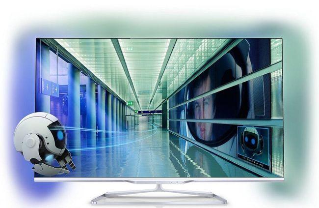 Philips 47PFL7108K   47 Zoll LED TV mit Ambilight (A+, Full HD, WLAN, 3D) für 799€   wieder da!