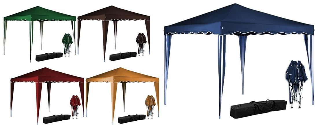 Deuba Faltpavillon mit Tasche    div. Farben für je 35,99€
