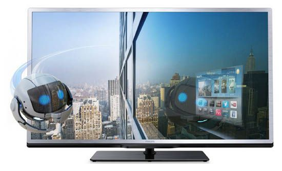 Philips 32PFL4508 Philips 32PFL4508K   32 Zoll Full HD LED Fernseher (3D, Triple Tuner, 200Hz, A+) ab 379€