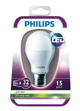 4er Pack Philips LED E27 6W Birnen für 19,99€