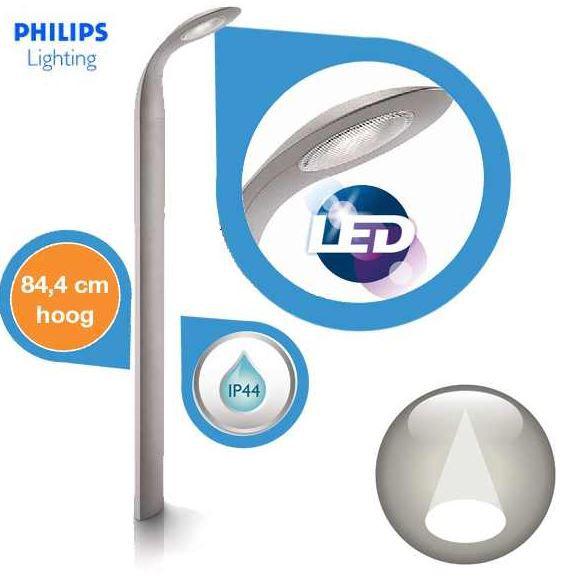 Philips Ledino 16802/87/16   stylishe Alu LED Gartenlampe für 55,90€ inkl. Versand statt 125,90€