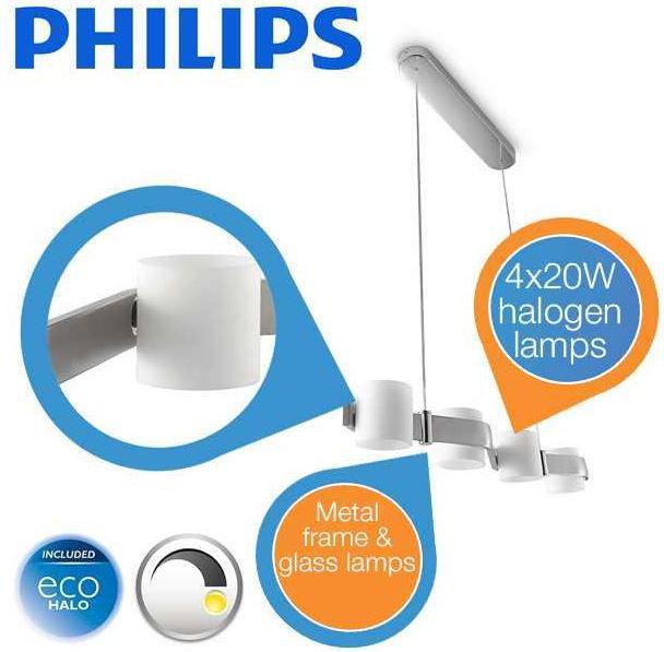 Philips 40597/11/16   moderne Hängelampe inkl. Leuchtmittel für 65,90€ statt 114,68€