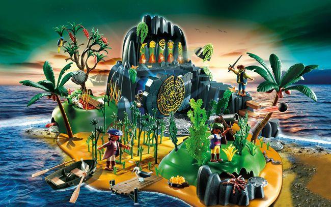 Playmobil Abenteuerschatzinsel für 59€ (statt 78€)