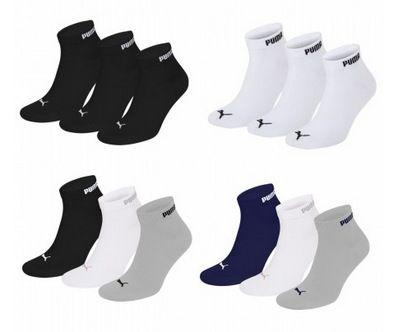 Puma Unisex Quarter Clyde Socken im 15er Pack für nur 25,50€