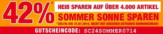 SC24 Sale Sommer, Sonne, sparen: Sale bei SC24 mit 42% Rabatt auf über 4.000 Artikel