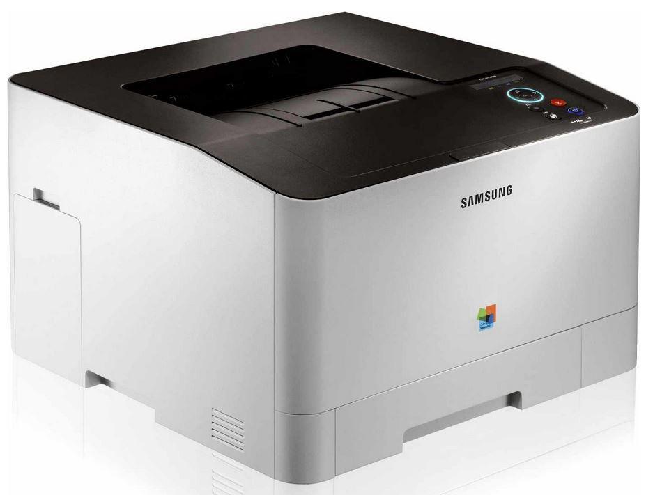 Samsung Laser1 SAMSUNG CLP 415NW   A4 Farblaserdrucker mit WLAN, USB (inkl. AirPrint) für 179,90€