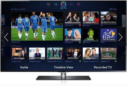Samsung UE55F6740 Samsung UE55H6740   55 Zoll 3D LED Fernseher (Full HD, 600 Hz, Triple Tuner, Twin Tuner, Smart TV, Micro Dimming) für 1.017,89€ (Vergleich: 1.600€)